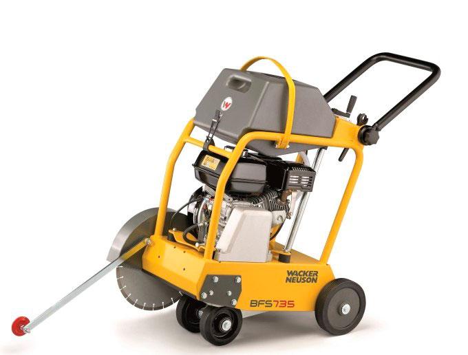 Aluguel de serra de cortar piso